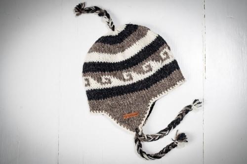 53b2c1fdd2a06 Czapka wełniana z nausznikami Sklep Feltiness - Handmade from Nepal